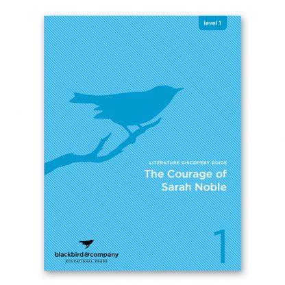 courage of sarah noble workbook