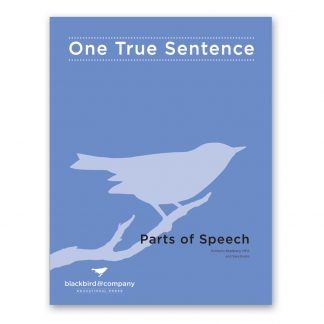 one true sentence parts of speech