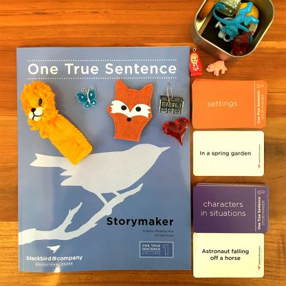 storymaker with cards and objects