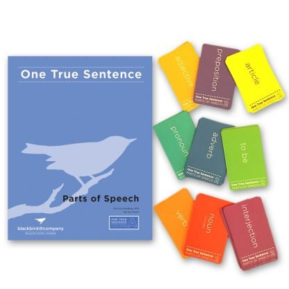 One True Sentence A - Parts of Speech