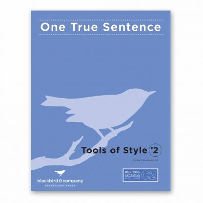 One True Sentence C2-Tools of Style