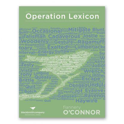 Operation Lexicon 12 - Flanner O'Connor